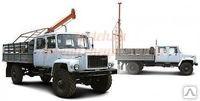 Бурильные установка .Бурильно-крановая машина и ямобур БКМ на базе ГАЗ