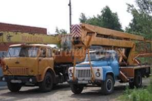 Автовышка АГП-18 на базе ГАЗ-5312