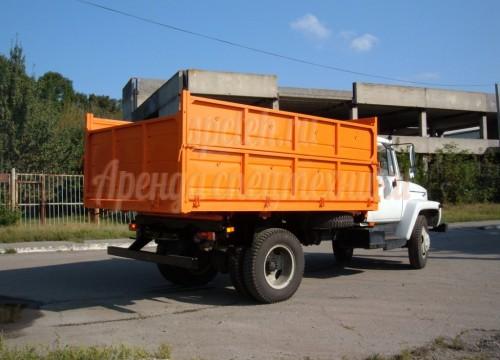 Вывоз мусора САМОСВАЛ ГАЗ 3309